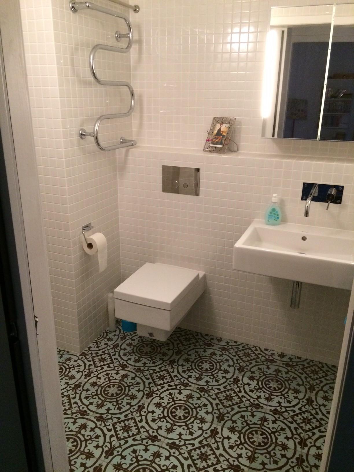 Ett hus blir till del 17 – badrum och klinker — ettelva arkitekter