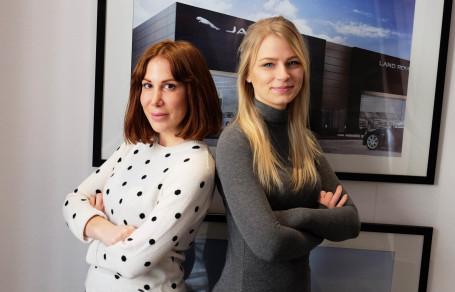 Miljöbild Ilona och Saga