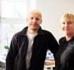 Nya medarbetare: Kristian Torpareng och Ilga Lanestedt