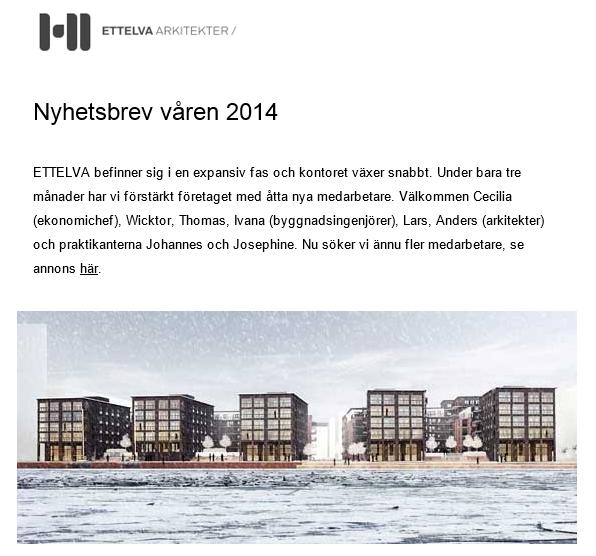 Prenumerera på ETTELVAs nyhetsbrev